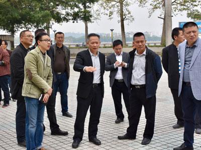 湘桥区推进东兴路美化提升建设工程--美化一江两岸环境 创设宜居宜游生活圈