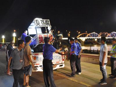 湘桥区整治北堤乱象——还市民整洁有序的市容环境