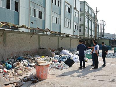 湘桥区加强陶瓷废物整治巡查工作